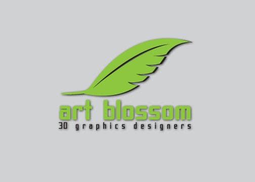 Logo for Russian graphic design company Art-blossom. için 377 numaralı Yarışma Girdisi