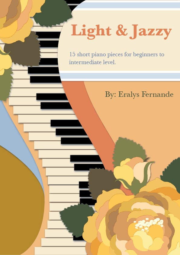 #30 for Cover for Piano Music Book by sophialotus