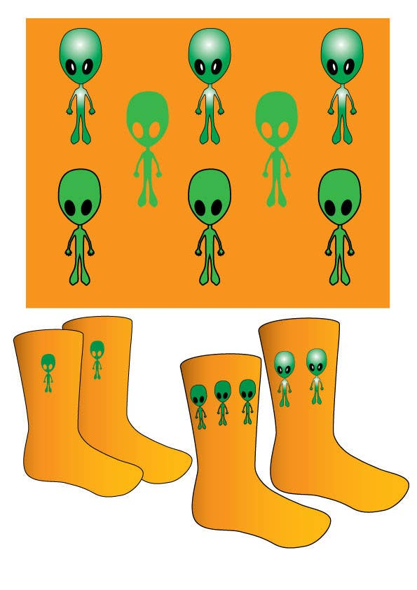 #2 for I need some Graphic Design for sock design by JosephMarinas