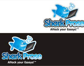 "#18 for Design a Logo/Website WIX Mockup for ""Shark Prose""!!! by ariekenola"