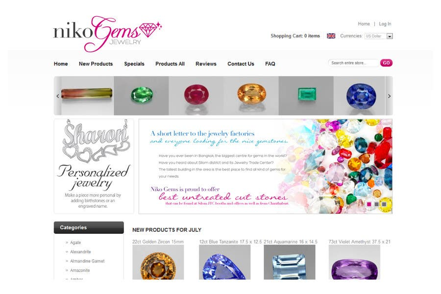 Bài tham dự cuộc thi #                                        27                                      cho                                         Design a Banner for Jewelry website