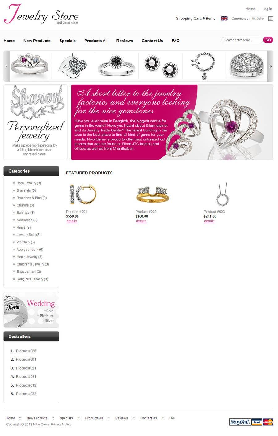 Bài tham dự cuộc thi #                                        24                                      cho                                         Design a Banner for Jewelry website