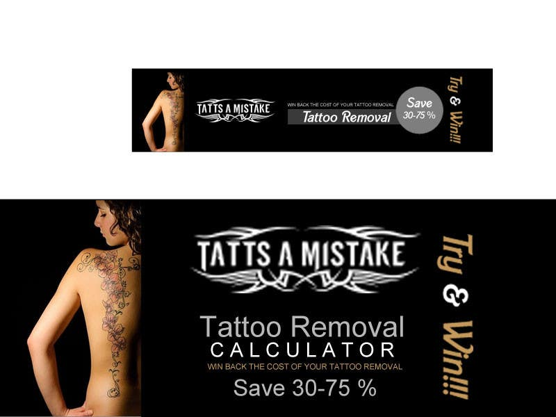 Entry #13 by krisgraphic for Design a banner for Tattoo Removal ...