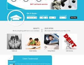 #1 untuk Home page design plus logo - legal site oleh Soniyakumar