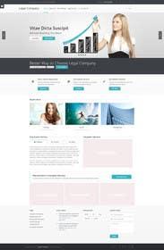 #4 for Home page design plus logo - legal site by jamshaidrazaCG