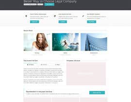 nº 4 pour Home page design plus logo - legal site par jamshaidrazaCG