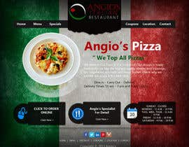 nº 37 pour PSD for an Italian pizza restaurant web site. par riopratama