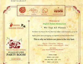 #24 for PSD for an Italian pizza restaurant web site. by saimarehan