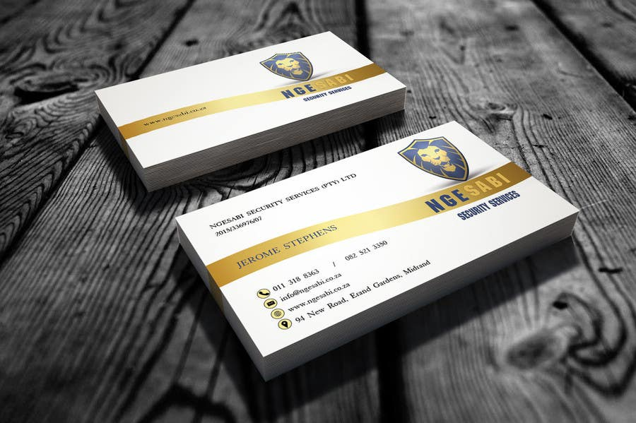 Design a letterhead and business cards for a security for Cctv business card