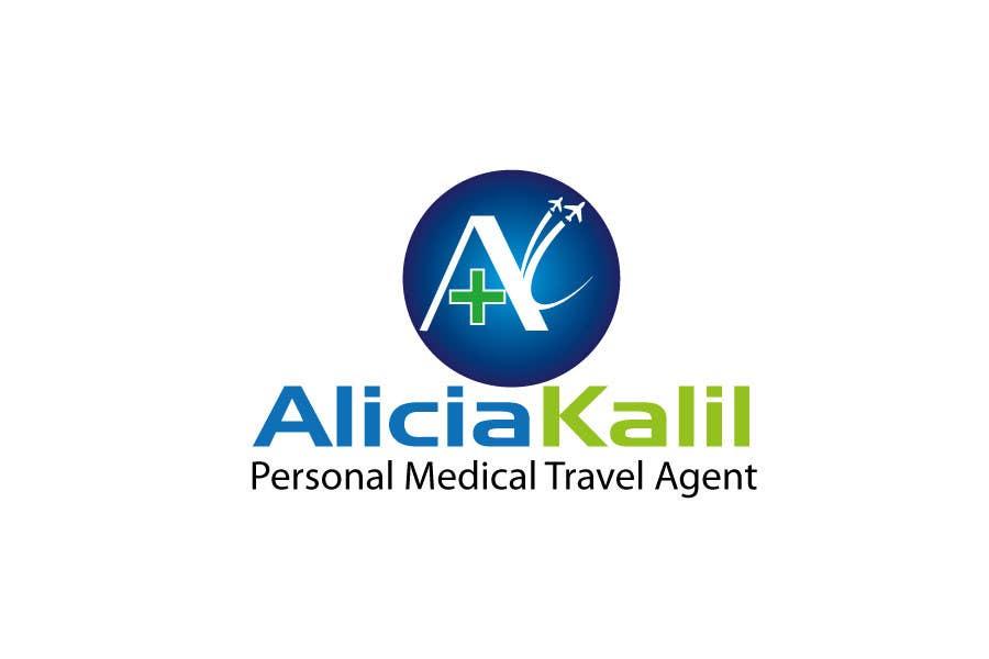 """Inscrição nº 30 do Concurso para Design a Name & Logo using """"Alicia Kalil - Your Personal Medical Travel Agent"""