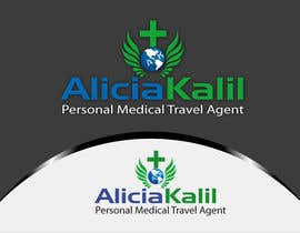 "woow7 tarafından Design a Name & Logo using ""Alicia Kalil - Your Personal Medical Travel Agent için no 32"