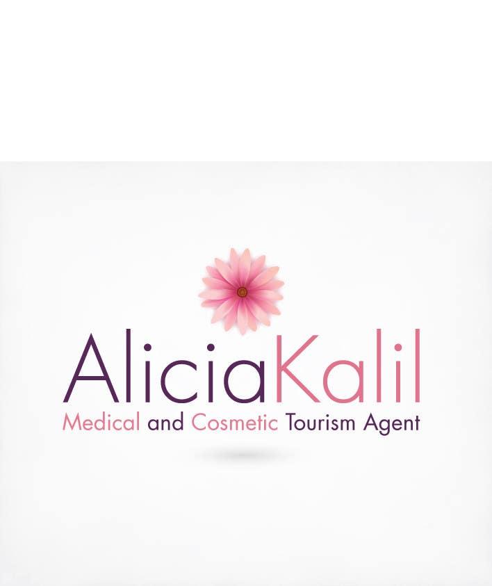 """Inscrição nº 18 do Concurso para Design a Name & Logo using """"Alicia Kalil - Your Personal Medical Travel Agent"""