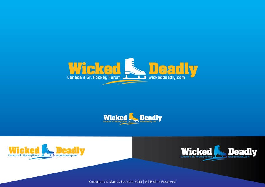 #8 for Design a Logo for www.wickeddeadly.com by mariusfechete