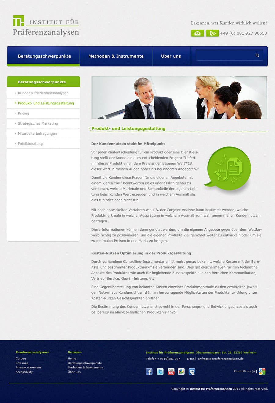 Contest Entry #                                        105                                      for                                         Website Design for small marketing consulting company