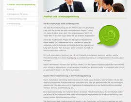 #105 pentru Website Design for small marketing consulting company de către amandachien