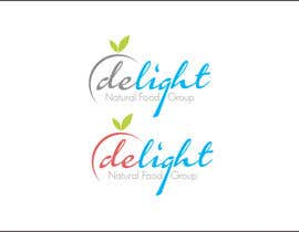 #107 for Design a Logo for Delight Natural Food Group by rueldecastro