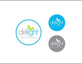 #112 for Design a Logo for Delight Natural Food Group by rueldecastro
