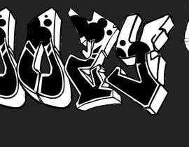 #4 for graffiti design by aimanahmad24