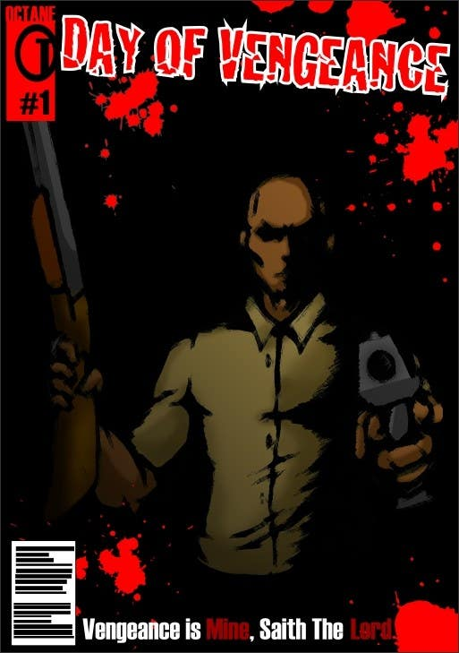 Contest Entry #                                        54                                      for                                         Short film needs DVD illustration in a COMIC BOOK or GRAPHIC NOVEL style