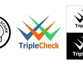 nº 21 pour Triplecheck logo and stamp par johngmcanlas