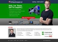 Bài tham dự #33 về Graphic Design cho cuộc thi Design a single Page Website with Logo for a PC repair service