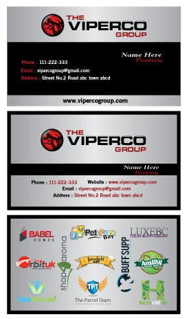 #20 for I need a Business Card and Letterhead by designfrenzy
