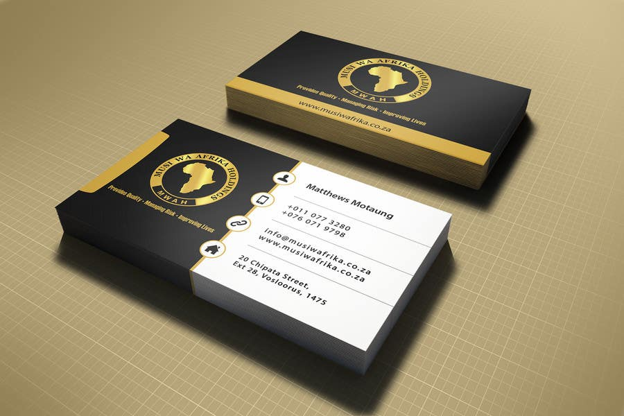 Entry #6 by aslambukhari for Design a letterhead and Business Cards ...