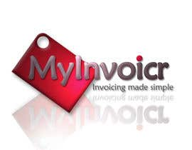 #90 for Logo Design for myInvoicr af DavidPinchen