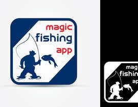 Nro 67 kilpailuun Design a Logo for Fishing Mobile App käyttäjältä akshaydesai
