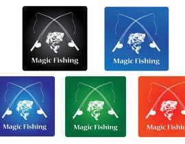 Nro 77 kilpailuun Design a Logo for Fishing Mobile App käyttäjältä Vlacina