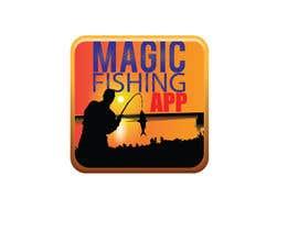 Nro 64 kilpailuun Design a Logo for Fishing Mobile App käyttäjältä rimskik