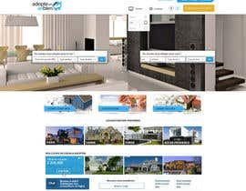 nº 14 pour Design a Website Mockup for a real estate website par SadunKodagoda
