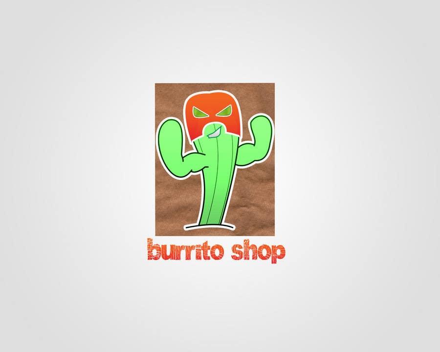 Proposition n°                                        95                                      du concours                                         Logo Design for burrito shop