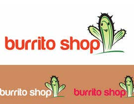 #91 para Logo Design for burrito shop de ulogo