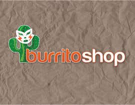 nº 82 pour Logo Design for burrito shop par jennfeaster