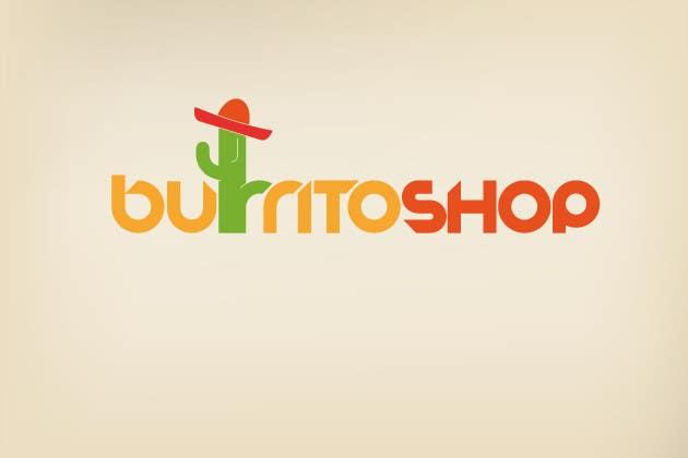 Proposition n°                                        1                                      du concours                                         Logo Design for burrito shop
