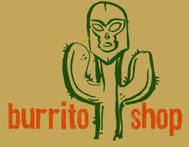 nº 97 pour Logo Design for burrito shop par nathanshields