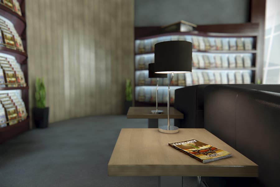 Contest Entry #                                        25                                      for                                         CGI Interior Design First Class Airline Lounge