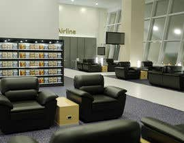 #26 untuk CGI Interior Design First Class Airline Lounge oleh marcoartdesign