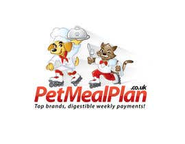 #47 untuk Logo Design for PetMealPlan.co.uk oleh taks0not