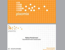 #84 for Stationary (Letterhead, Business Card) for Pixomix af SabreToothVision