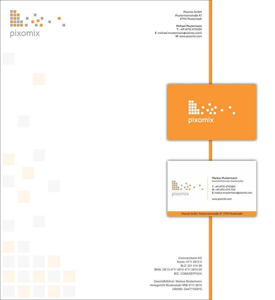 Bài tham dự cuộc thi #66 cho Stationary (Letterhead, Business Card) for Pixomix