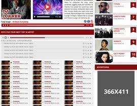 Nro 72 kilpailuun Design a Website Mockup käyttäjältä bellalbellal25
