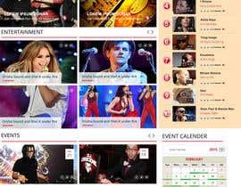 Nro 75 kilpailuun Design a Website Mockup käyttäjältä webmastersud