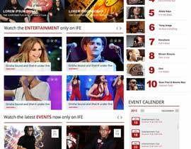 Nro 78 kilpailuun Design a Website Mockup käyttäjältä webmastersud