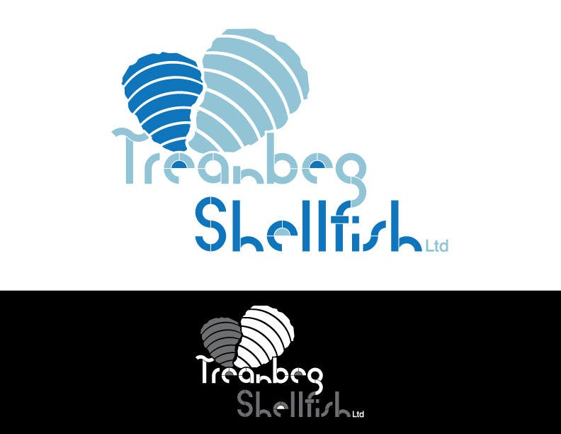 Konkurrenceindlæg #65 for Logo Design for Treanbeg Shellfish Ltd