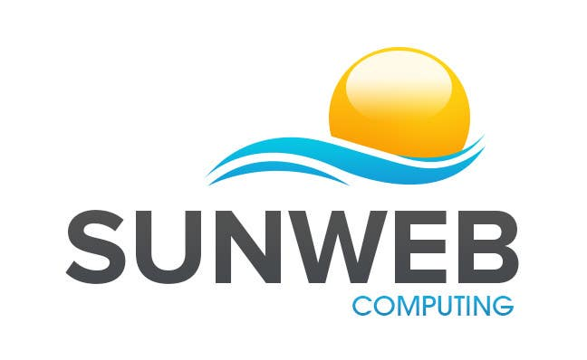 #7 for Design a Logo for SunWeb Computing by geniedesignssl