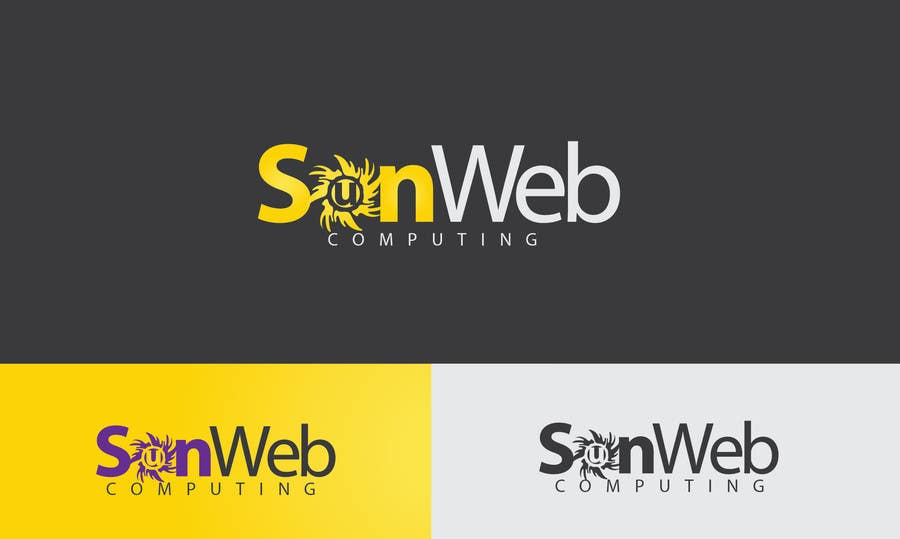 #40 for Design a Logo for SunWeb Computing by rimskik
