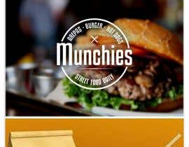 #63 untuk Munchies Restaurant Logo oleh Hayesnch