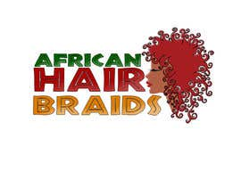 #17 for Design a Small Logo for www.AfricanHairBraids.com.au af noeloteam